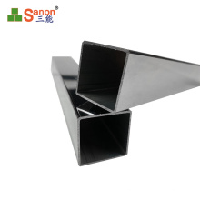 Guangdong factory square pipe  price bright industrial stainless steel pipe