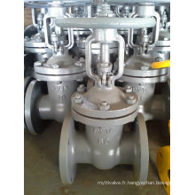 A216 Wcb GOST Py16 Dn80 Gate Valve