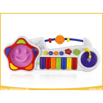 Smiley Flower Music Keyboard Toys for Baby