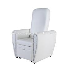Silla de pedicura reclinable Silla de pedicura de manicura Muebles de salón de uñas