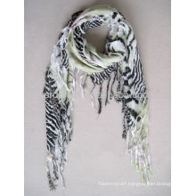 Fashion printed wholesale infinity scarf