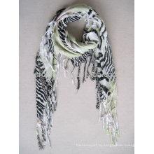 Мода напечатала оптовый бесконечный шарф