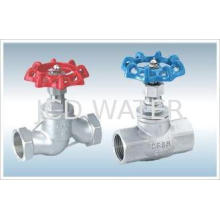 WCB Flanged Angle Globe Valve For Water Treatment Equipment