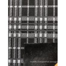 Knitted Bonded Rabbit Hair Esfh-1042-2