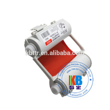 Fita de tinta compatível SL-R102T SL-R103T branco cor vermelha para Max CPMP CPM-100HG3C PM-100 CPM-100HC impressora