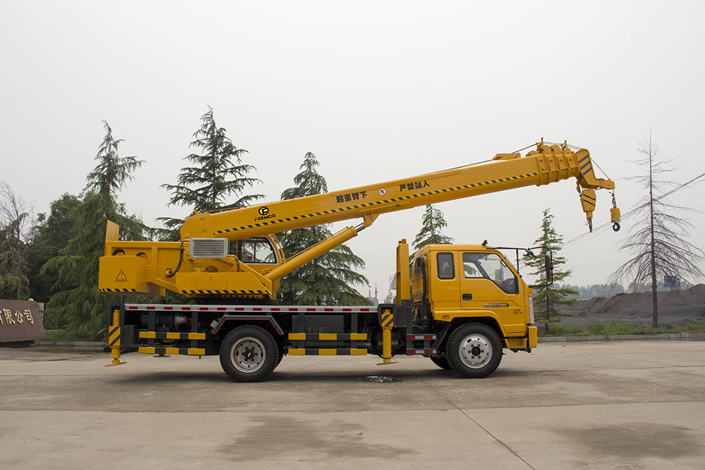 Truck Crane Instruction