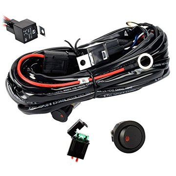 OFF Road LED Light Bar wiring and Switch
