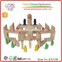 EZ1106 bestand 108 Stück Massivholz Rom Stil Kinder Big Bausteine