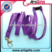 Cordones de las mujeres baratas de la moda del color púrpura