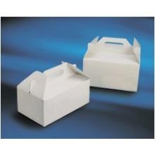 Kuchen-Box / Takeaway Box Take Away Lebensmittel-Box Lebensmittel-Container, Kekse Verpackung Cage Noodle Box