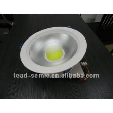 """COB LED downlight 30W 8"""" natrual white 220V pure white"""