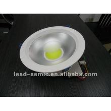 COB20W LED para baixo luz luz de teto COB 6 polegadas