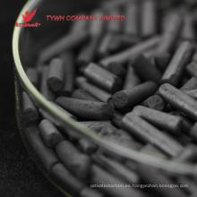 Gold Mining utilizó carbón activado a base de cáscara de coco