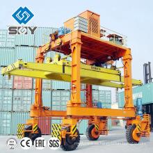 Precio de grúa RTG, grúa portuaria para levantar y mover el precio de grúa RTG de contenedor, grúa portuaria para levantar y mover el contenedor