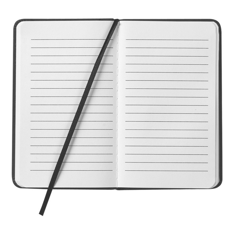 Promotional Blank Customized Paper Notebook With Elastic Band