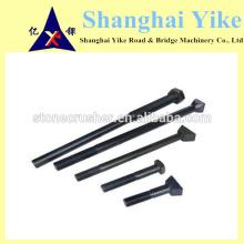 PE 250X400.500x750 Parafusos de fixação do triturador de mandíbulas para placa de mandíbula fixa, placa de mandíbula oscilante, placa lateral, placa superior, placa para baixo