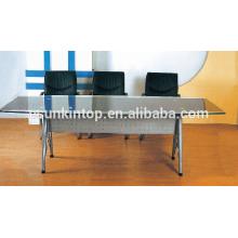 Moderne Glas Schreibtisch Büromöbel, hochwertige Büromöbel für hohe Qualität zu gehen! (P8097)