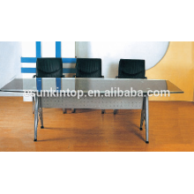 Modern glass desk office furniture , High quality office furniture for high quality to go! (P8097)
