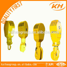travelling block hook for drilling rig