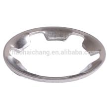 Factory customized nonstandard aluminum lock star gasket
