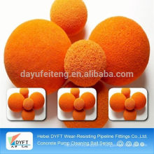 round sponge cleaning ball
