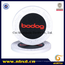 9,5g Pure Clay Bodog Engraved Sticker Poker Chip