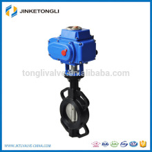 actuator operated 2 inch a216 wcb high pressure butterfly valve