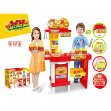 Super Fast Food Shop Kitchen Toys-Remote Control Play Set