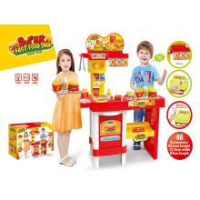 Super Fast Food Shop Cozinha Brinquedos-Controle Remoto Play Set