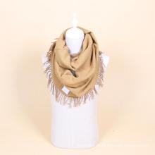 100% Wolle häkeln Unendlichkeit Schal