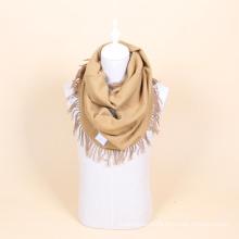 100% шерсти крючком бесконечности шарф