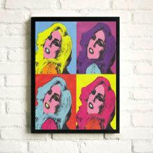 Impressão do poster de Lady Gaga