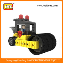 LOZ DIY Plastic Truck Excavator Fancy Cart building blocks