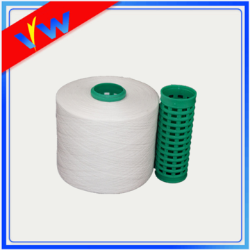 polyester sewing thread with plastic bobbins 62s/2