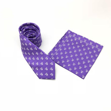 Custom Print Mens Ties and Pocket Square