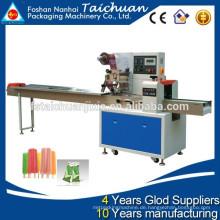 TCZB-250B automatische Popsicle horizontale Flow Wrapping Machine Preis heißer Verkauf in den Vereinigten Staaten