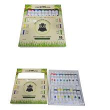 diy 18 pcs kids painting acrylic wholesale paint set