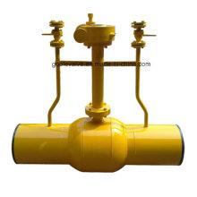 Válvula de bola subterránea Pn25 Dn50-600 con función de difusión (GFQ361F)