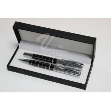 Black Blank Metal Pen Set Name Gedruckt Stift