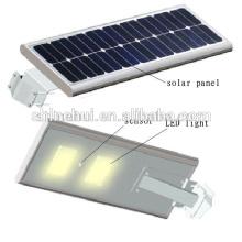 Preço de fábrica IP65 IP66 18V 60W Sunpower luz solar integrada jardim para venda
