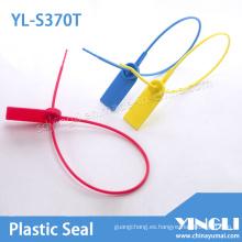 Sello de plástico de alta seguridad con cerradura de metal