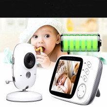 New LCD Display Long Range Baby Monitor Reciever