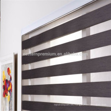 personalizar el tamaño de dos capas ventana cebra persianas