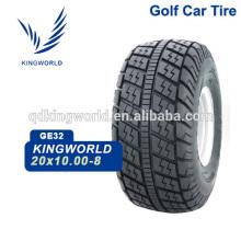 pneus tubeless de voiture de golf électrique