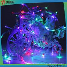Светодиодные отдых на природе красочные Рождественские украшения строка Фея свет