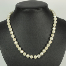 White Bead Pearl Necklaces in Bulk