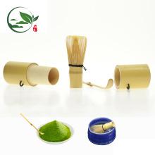 Ensemble de théière en bambou pour mini-fouet