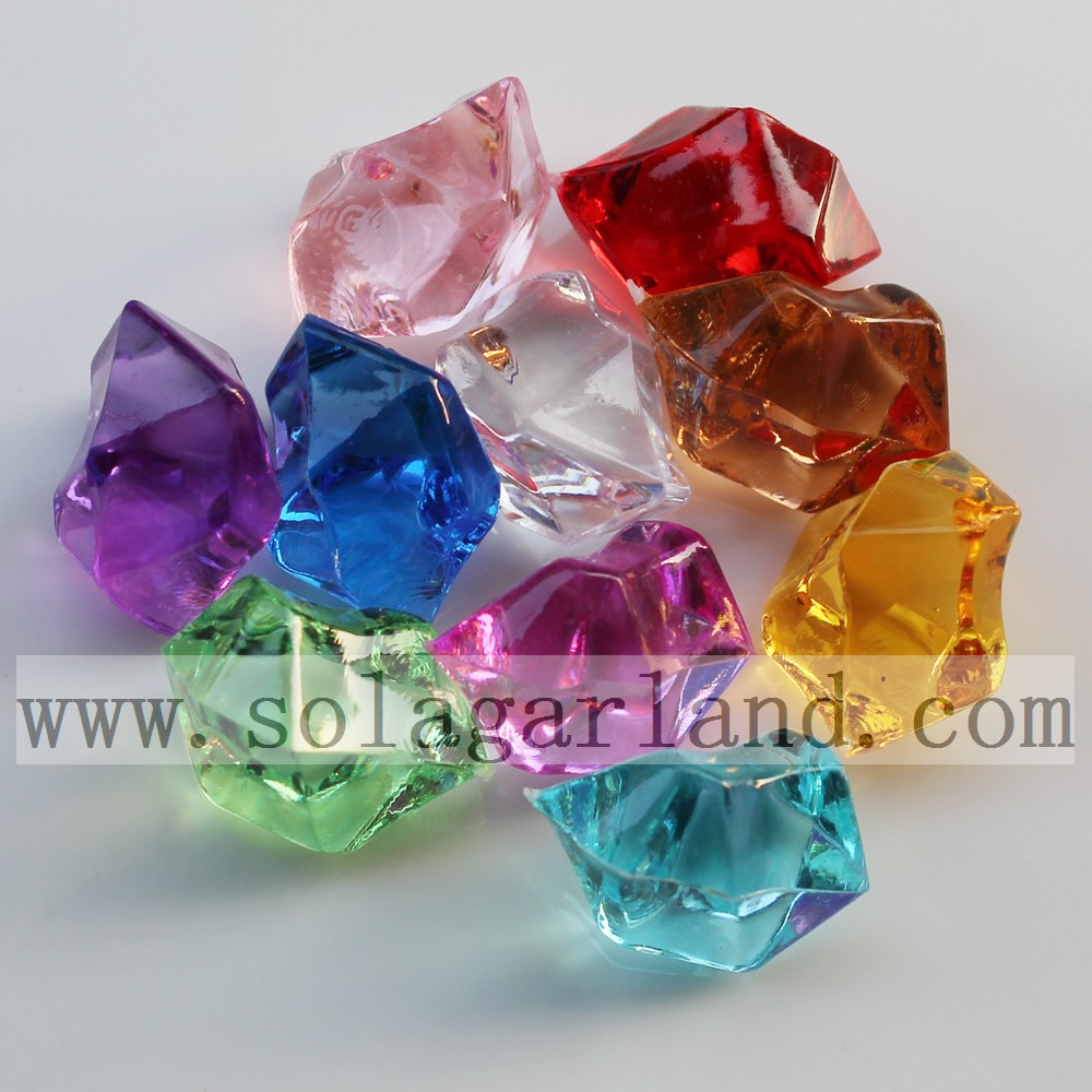 Acrylic Crystal Gem Stone Ice Rocks