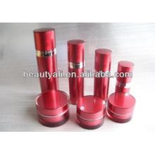 2ml 5ml 10ml 15ml 20ml 30ml 50ml 100ml 150ml 200ml Brosse et bouteille acrylique à l'acrylique cylindrique