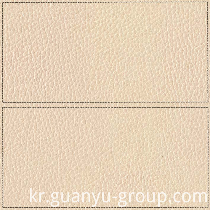 Beige Leather With Frame Decoration Rustic Tile